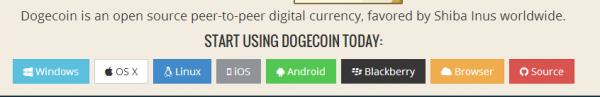 افتتاح حساب داگ کوین Dogecoin